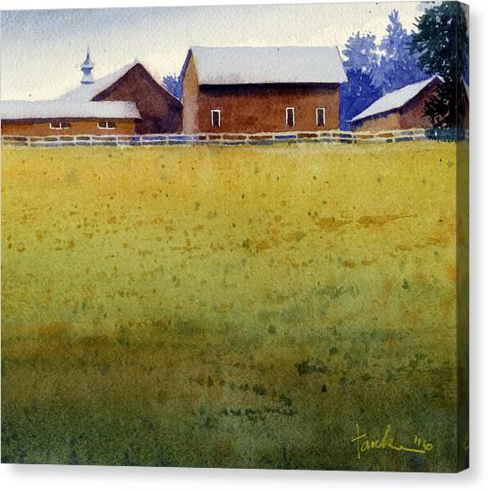 Garner Farm, Mineral Point, Wi Canvas Print