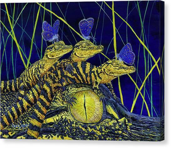 Gator Nursery  Canvas Print