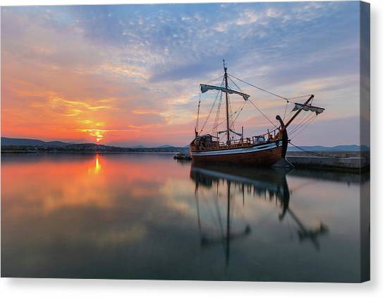 Canvas Print featuring the photograph Gaul by Davor Zerjav
