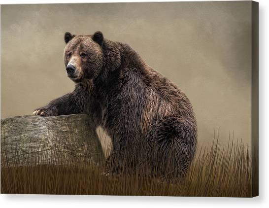 Gentle Ben Canvas Print
