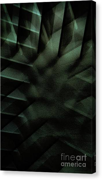 Canvas Print - Geometric Pattern Illustration by Tom Gowanlock