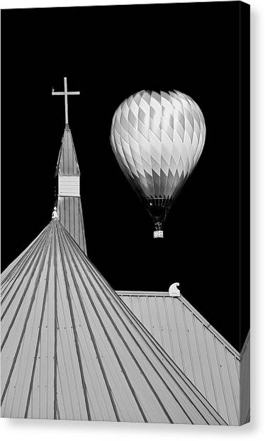 Geometric Patterns At Balloon Fest Canvas Print