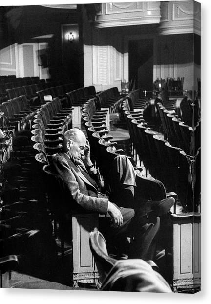 George Abbott Canvas Print by Peter Stackpole