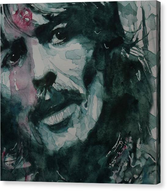 George Harrison Canvas Print - George Harrison - All Things Must Pass by Paul Lovering