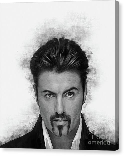 George Michael Canvas Print