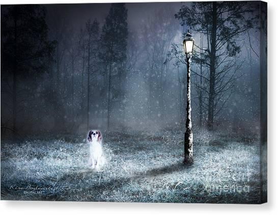 Ghost Dog Canvas Print