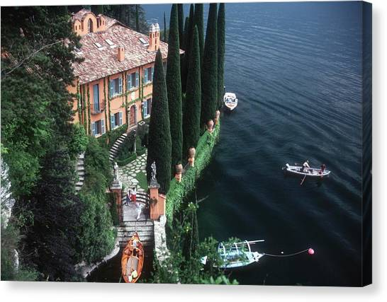 Giacomo Montegazza Canvas Print by Slim Aarons