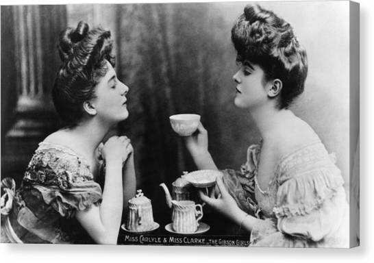 Gibson Girls Canvas Print by Hulton Archive