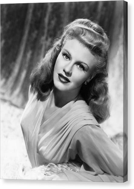Ginger Rogers Canvas Print