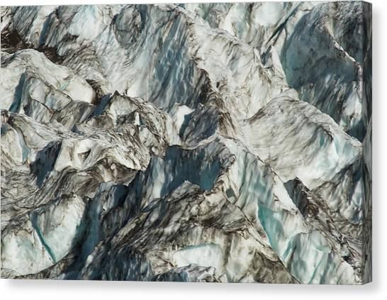 Glacier Ice 1 Canvas Print