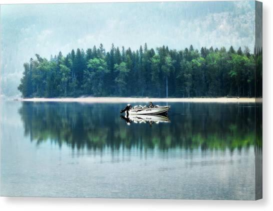 Glacier National Park Lake Reflections Canvas Print