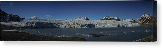 Glacier Svalbard Canvas Print