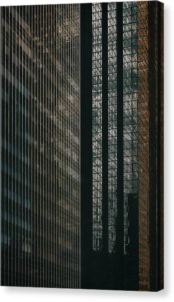 Glass Walls Canvas Print