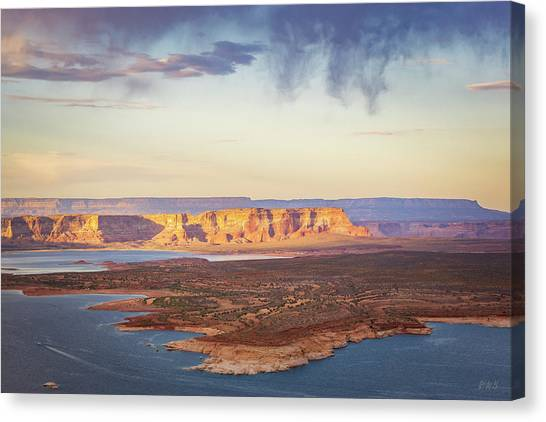 Canvas Print featuring the photograph Glen Canyon Page Az Xiii by David Gordon