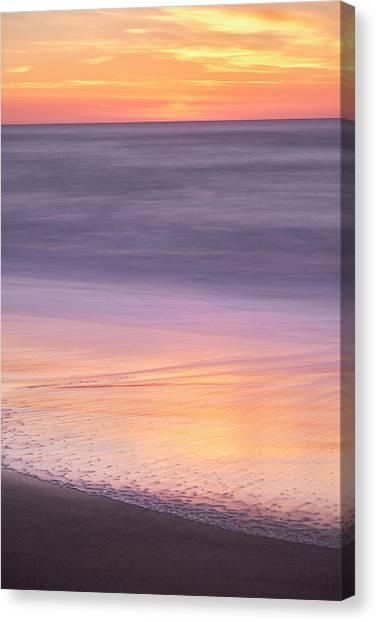 Gleneden Beach Sunset Canvas Print