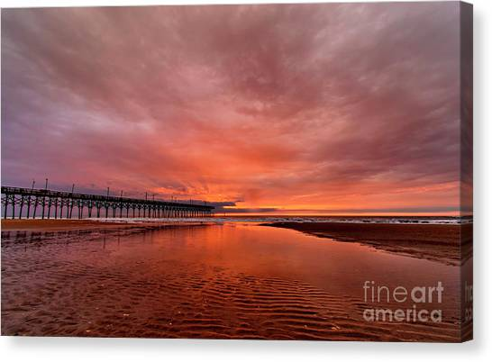 Glowing Sunrise Canvas Print