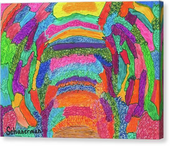 God Is Color - The Original Canvas Print