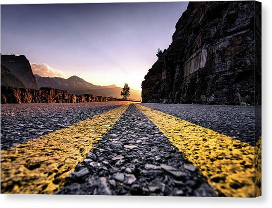 Going The The Sun Canvas Print