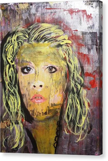 Gold Dust Woman Canvas Print
