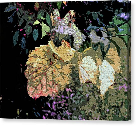 Canvas Print - Gold Leaf by Mindy Newman