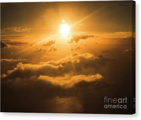 Cloudscape Canvas Print - Golden Glow by Jorgo Photography - Wall Art Gallery