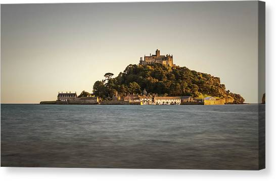 Golden Hour At St Michael's Mount Canvas Print