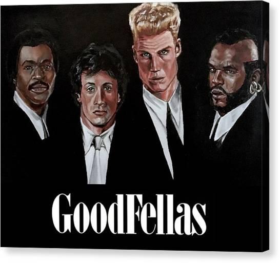 Goodfellas - Champions Edition Canvas Print