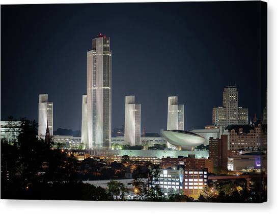 Goodnight Albany Canvas Print