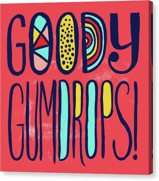 Goody Gumdrops Canvas Print