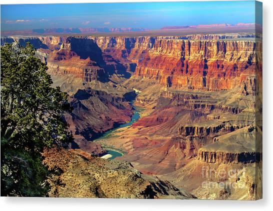 North Rim Canvas Print - Grand Canyon Sunset by Robert Bales