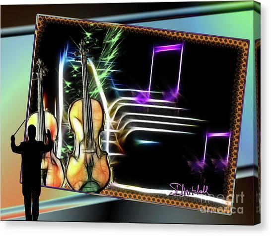 Grand Musicology Canvas Print