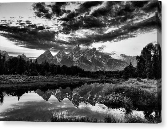 Grand Tetons, Wyoming Canvas Print