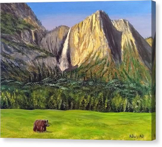 Grandeur And Extinction Canvas Print