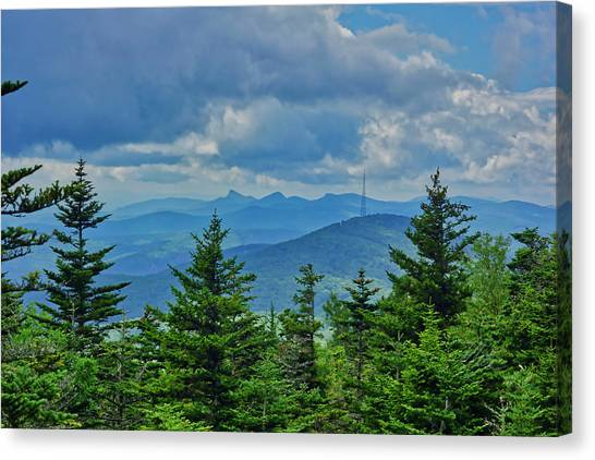 Grandmother Mountain Canvas Print