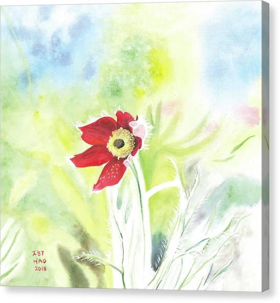 Granny Flower 3 Canvas Print