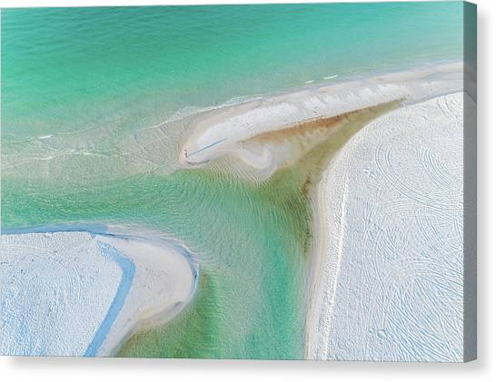 Grayton Beach Outfall #6 Canvas Print