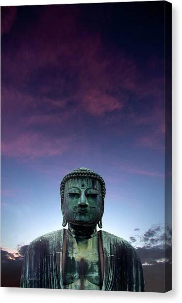 Great Buddha Daibutsu At Kamakura Canvas Print