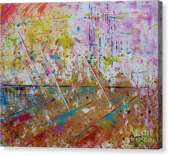 Horizons Calling Canvas Print