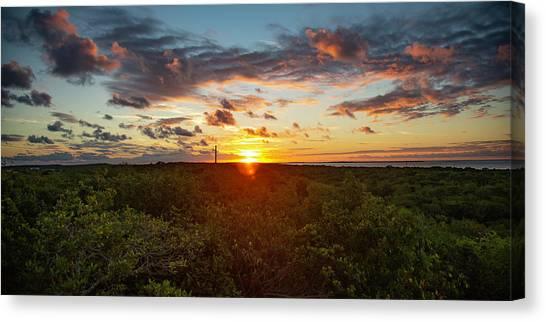 Great Exuma Sunrise Canvas Print