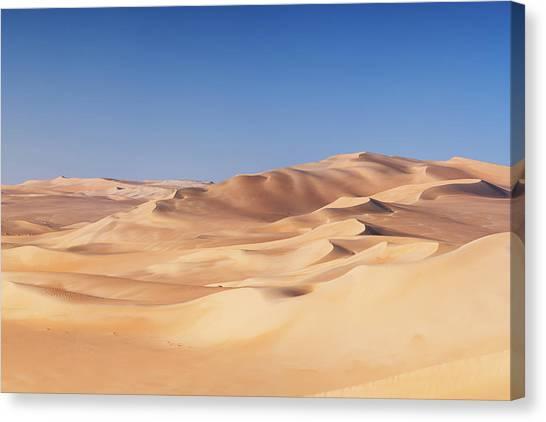 Great Sand Sea, Sahara Desert, Africa Canvas Print by Hadynyah
