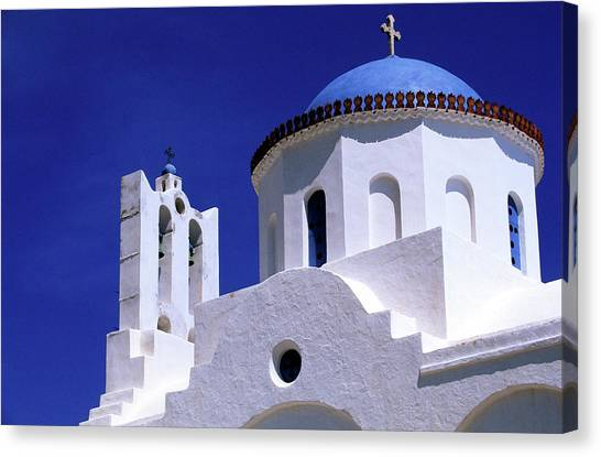 Greece, Cyclades Islands, Sifnos Canvas Print