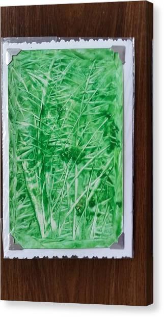 Green Jungle Canvas Print