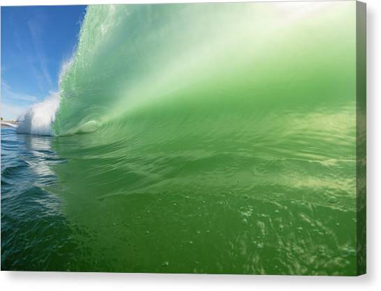 Green Room Canvas Print