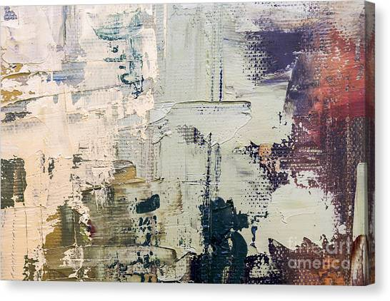Brush Stroke Canvas Print - Grunge Oil Painting.  Oil Painting On by Sweet Art