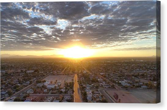 Guadalupe Sunset Canvas Print
