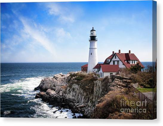Canvas Print featuring the photograph Guardian Of The Sea by Scott Kemper