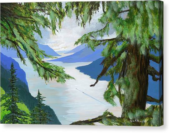 Guided Through The Fjords Canvas Print