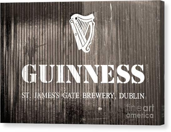 Guinness St. James Gate Brewery Dublin Canvas Print