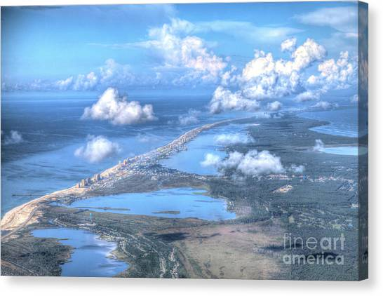 Gulf Shores-5094-tm Canvas Print