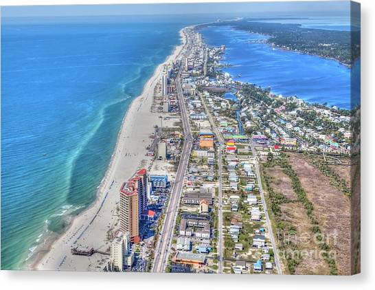 Gulf Shores 7124 Canvas Print
